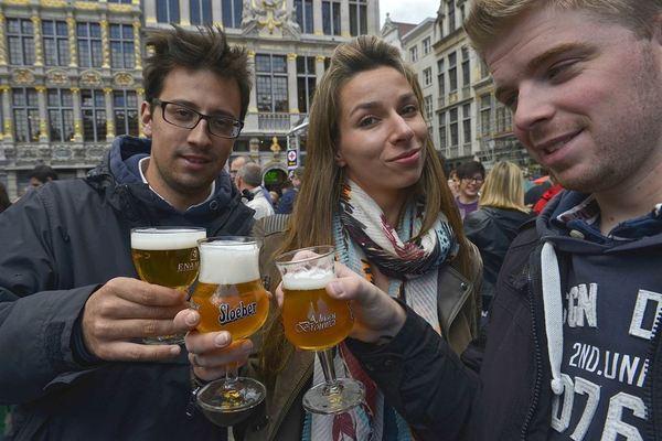 Enjoying the beers of Brouwerij Roman