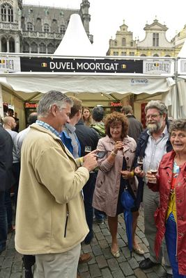 Liefmans Goudenband joins the party at the Duvel Moortgat stand