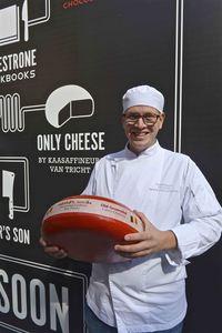 Van Tricht cheese at Antwerp City Brewery De Koninck