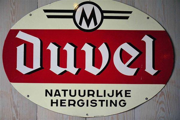 Duvel beer, brewed by Duvel-Moortgat