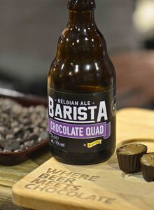 Barista Chocolate Quad, beer meets chocolate