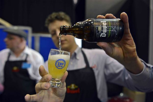Duvel Tripel Hop at the 2016 Zythos Beer Festival