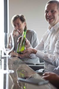 Erik Verdonck, Luc Deraedemaecker - Beer and food pairing at Restaurant 't Zilte