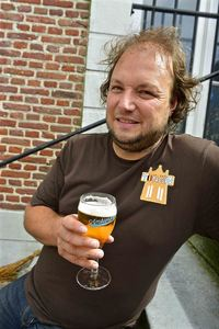 Davy Daniëls, organiser of the Ambierorix beer festival in Tongeren