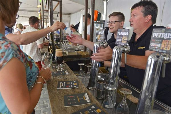 Ambierorix beer festival, Petrus sour beers