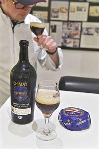 Frédéric Van Tricht, Chimay Grande Réserve Vieillie en Barriques 2016, cheese pairing