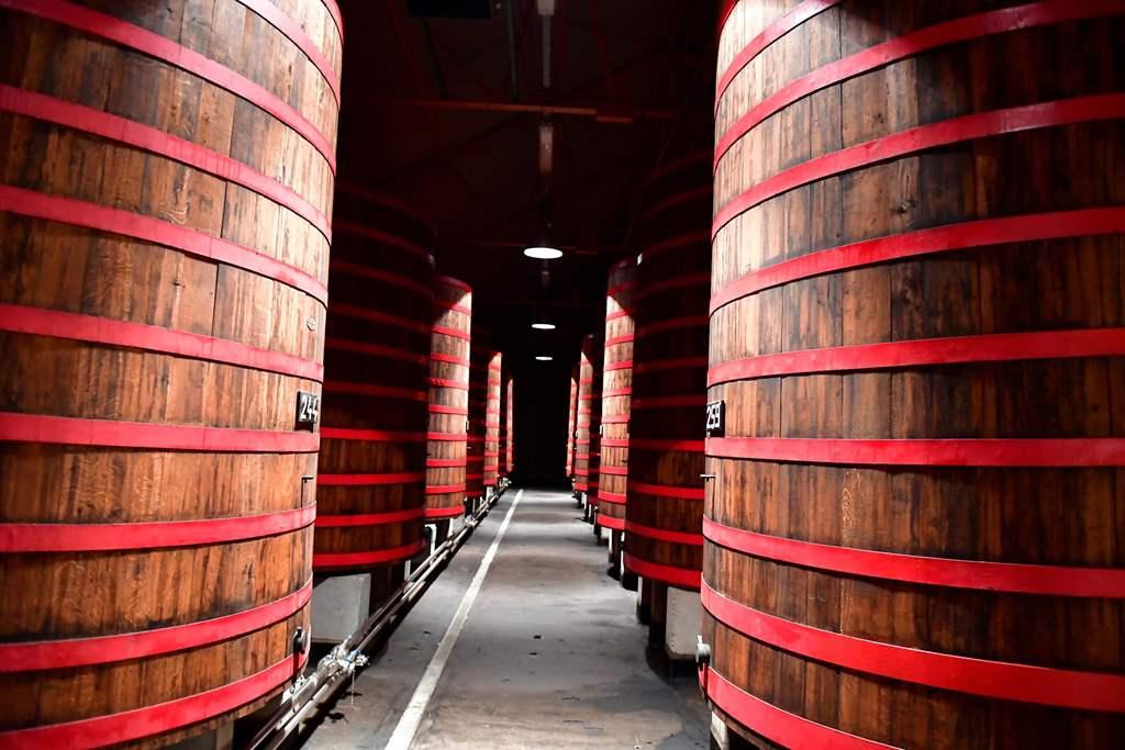 Brewery Rodenbach foeders