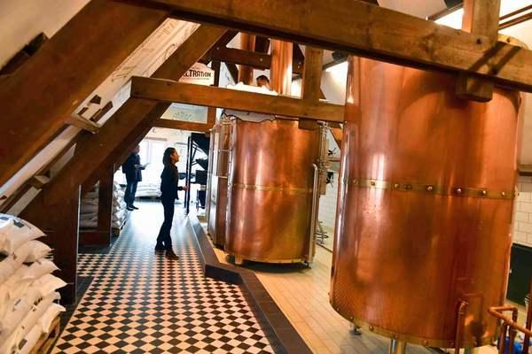 Brewing at Bourgogne des Flandres, Bruges