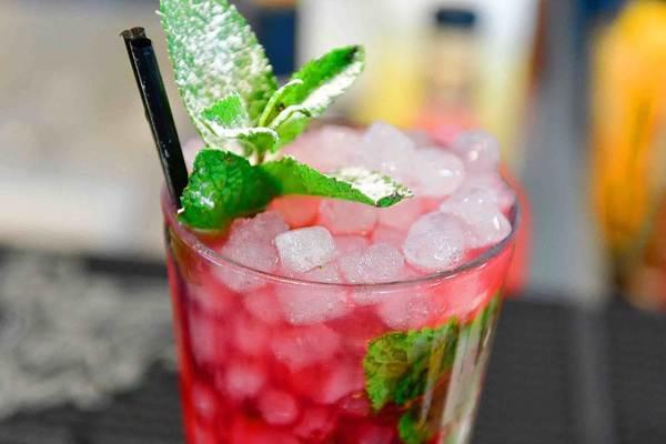 Mojito Kriek, Lindemix, Lindemans cocktails