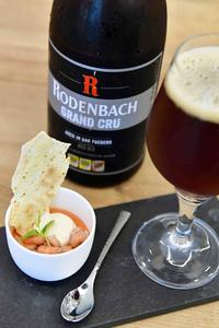 Rodenbach Grand Cru and grey shrimps