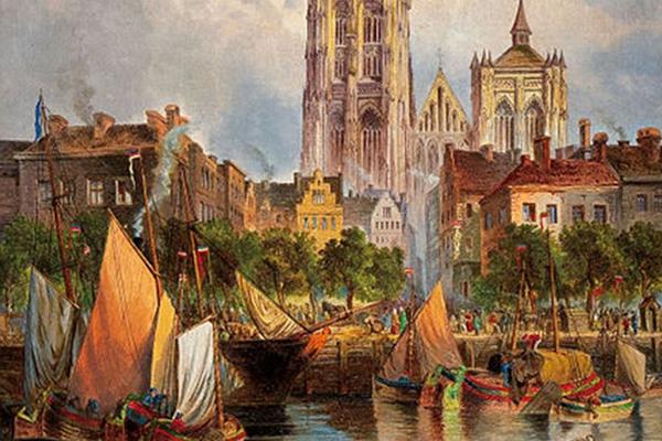 Antwerp in 1800s