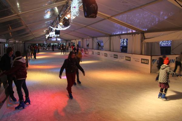 ice rink Ostend