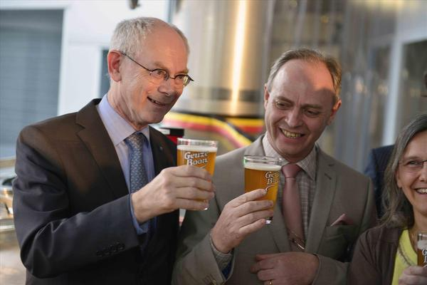 Herman Van Rompuy, Frank Boon, Lambiek, Belgian Beer, Belgium