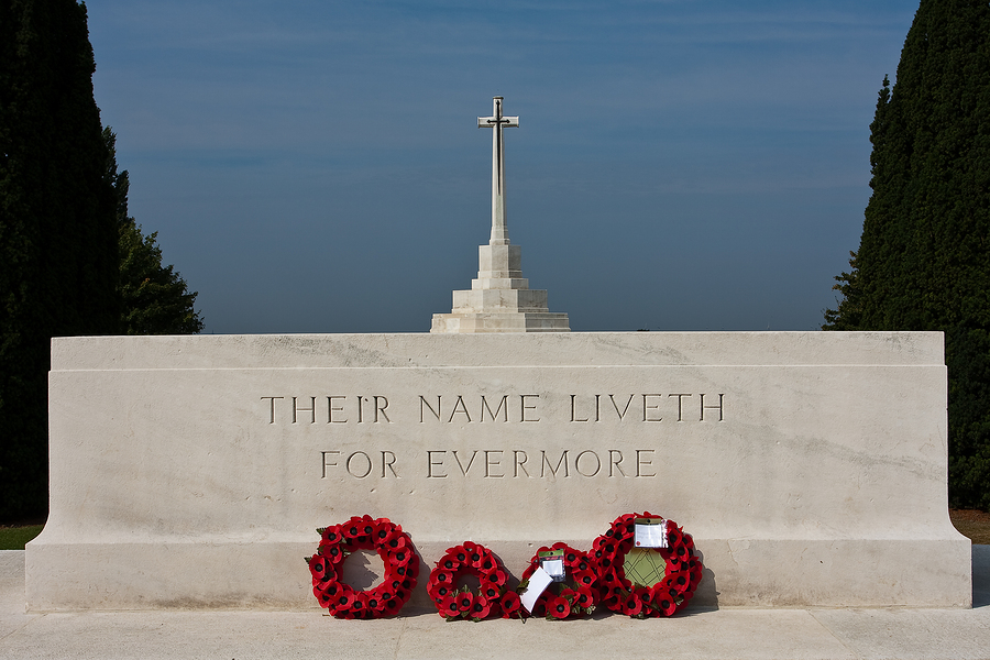 WWI, World War One, Tynecot Cemetary