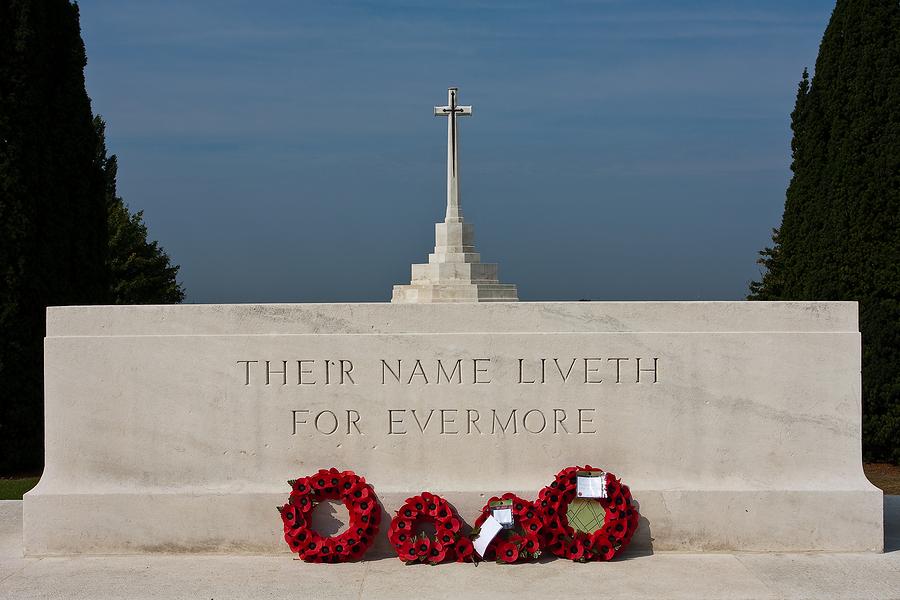 WWI, World War One, Tynecot Cemetary