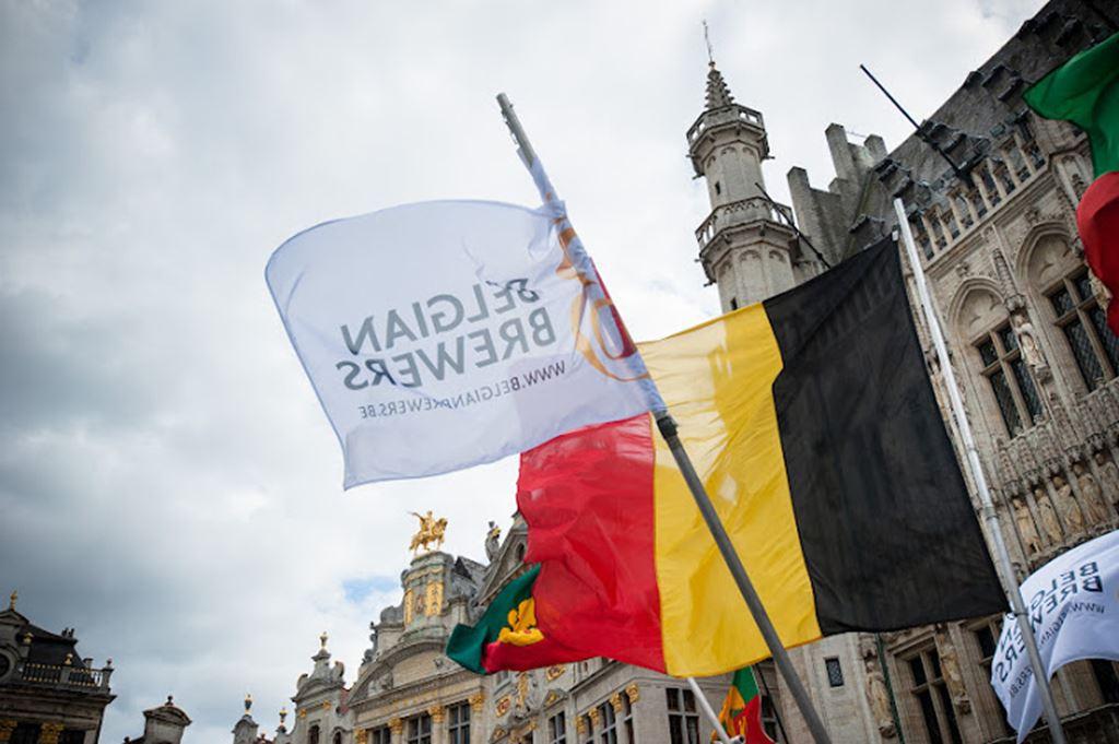 Proud of Belgian beer