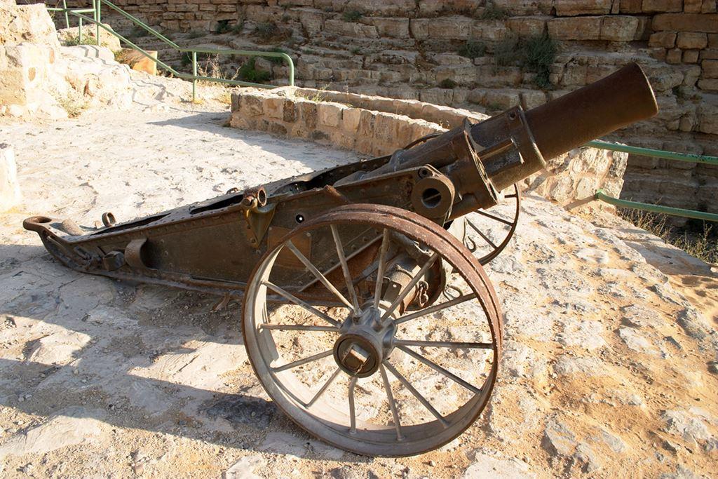 Ottoman era cannon