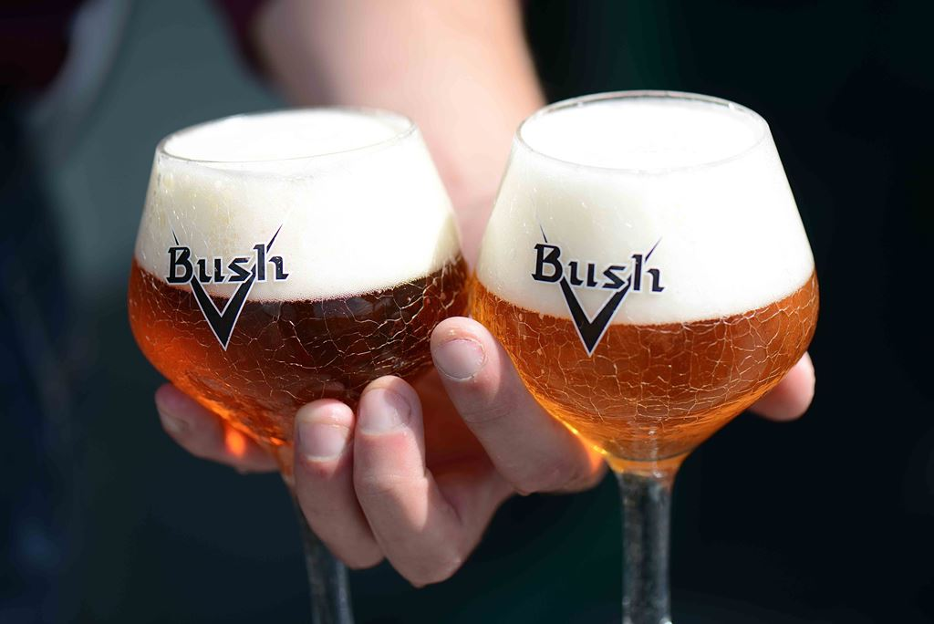 Bush Ambrée and Bush Blonde from Brasserie Dubuisson