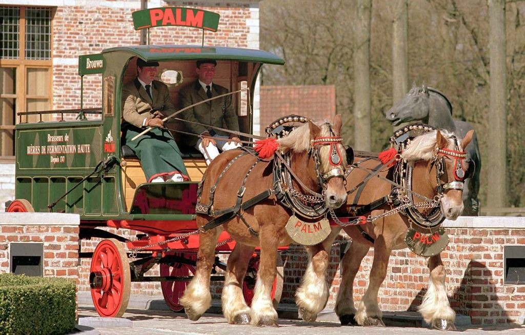 Beer's best friend: the horse-drawn cart