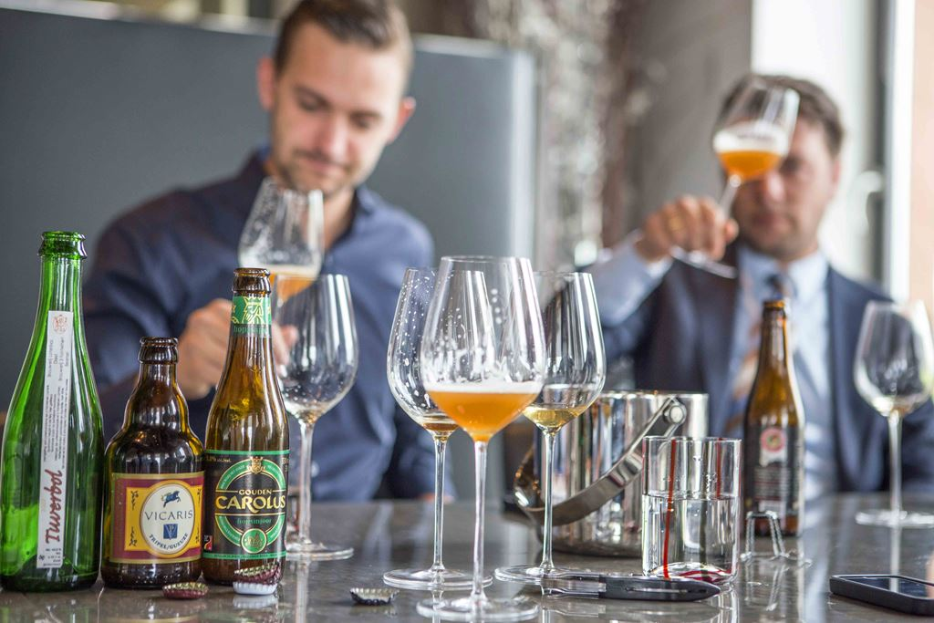 Belgian beer and food pairing