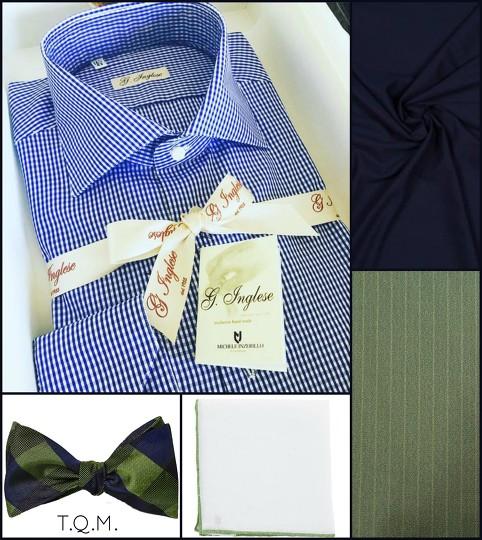 Shirttie Combo Inglese Shirt The Tie Bar Bowtie Fiori Di Lusso