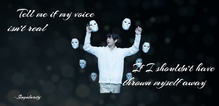 Singularity Wallpaper Bts V By Doveflower456 Befunky Photo