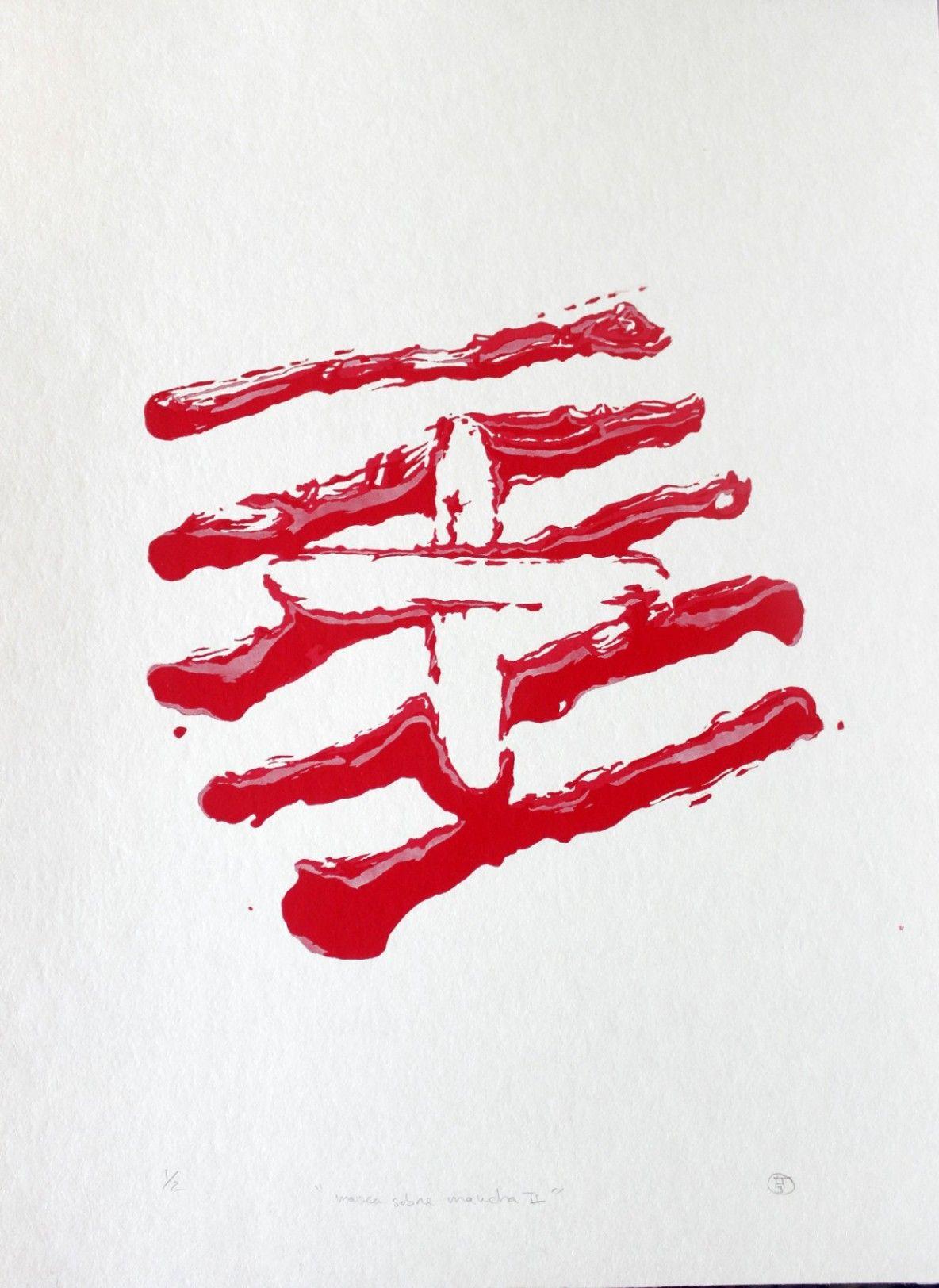 Obra: Marca sobre mancha II