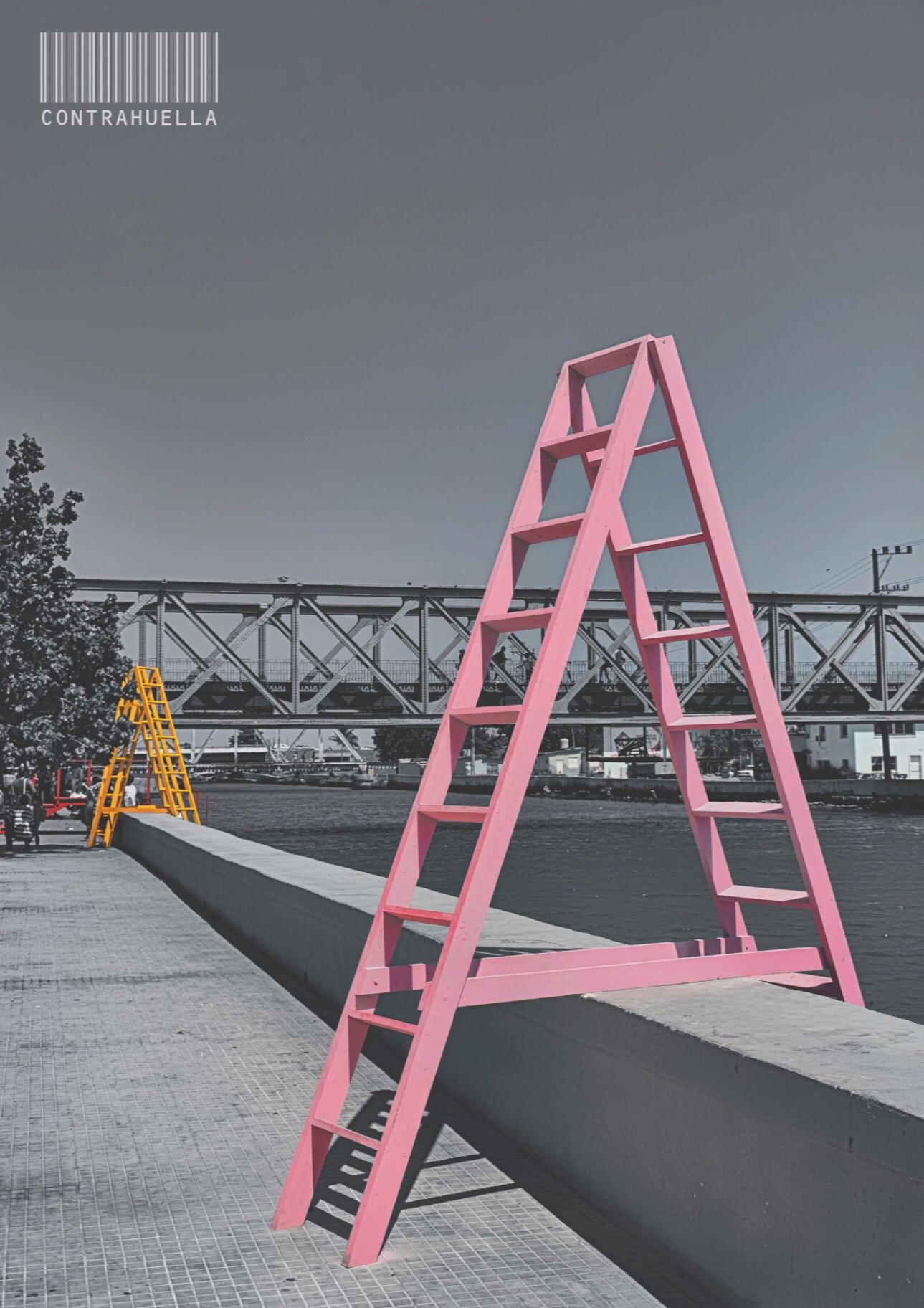 Obra: Instalación Contrahuella XII bienal de La Habana, Ríos Intermitentes