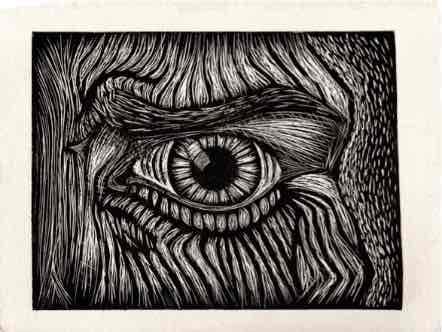 Obra: Existo en la mirada del otro.