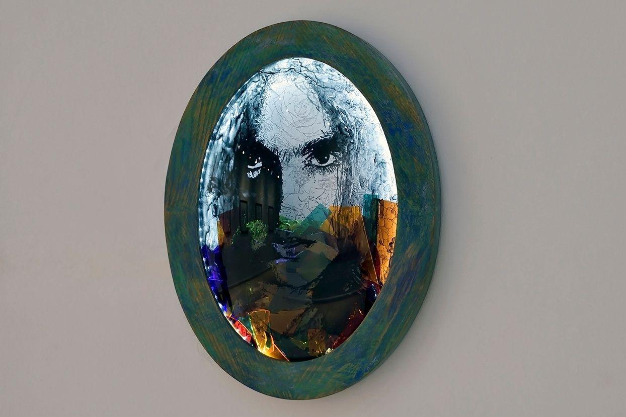 Obra: El retrato oval