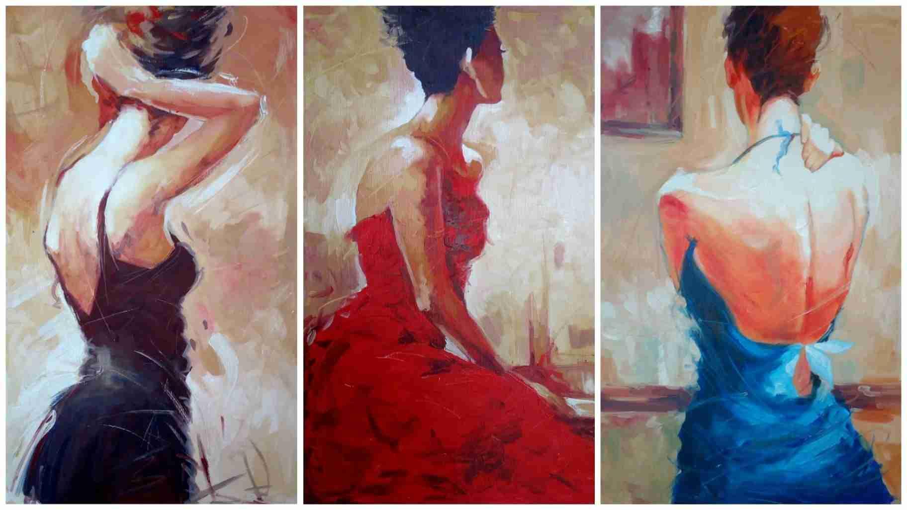 Obra: Mujeres de espalda
