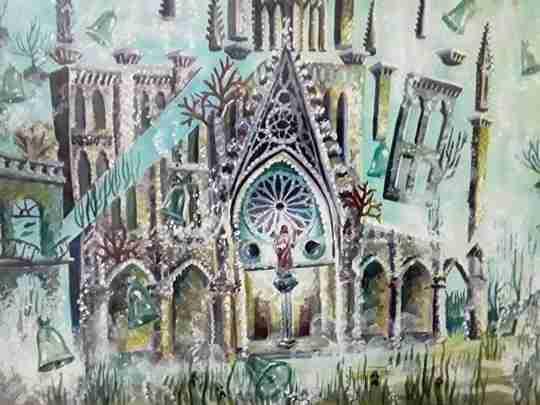 "Obra: ""Iglesia del Sagrado Corazón de Jesús( Reina )"""