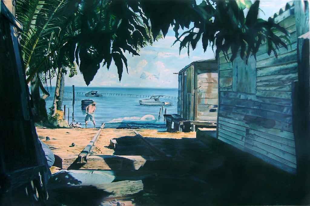 Obra: El pescador