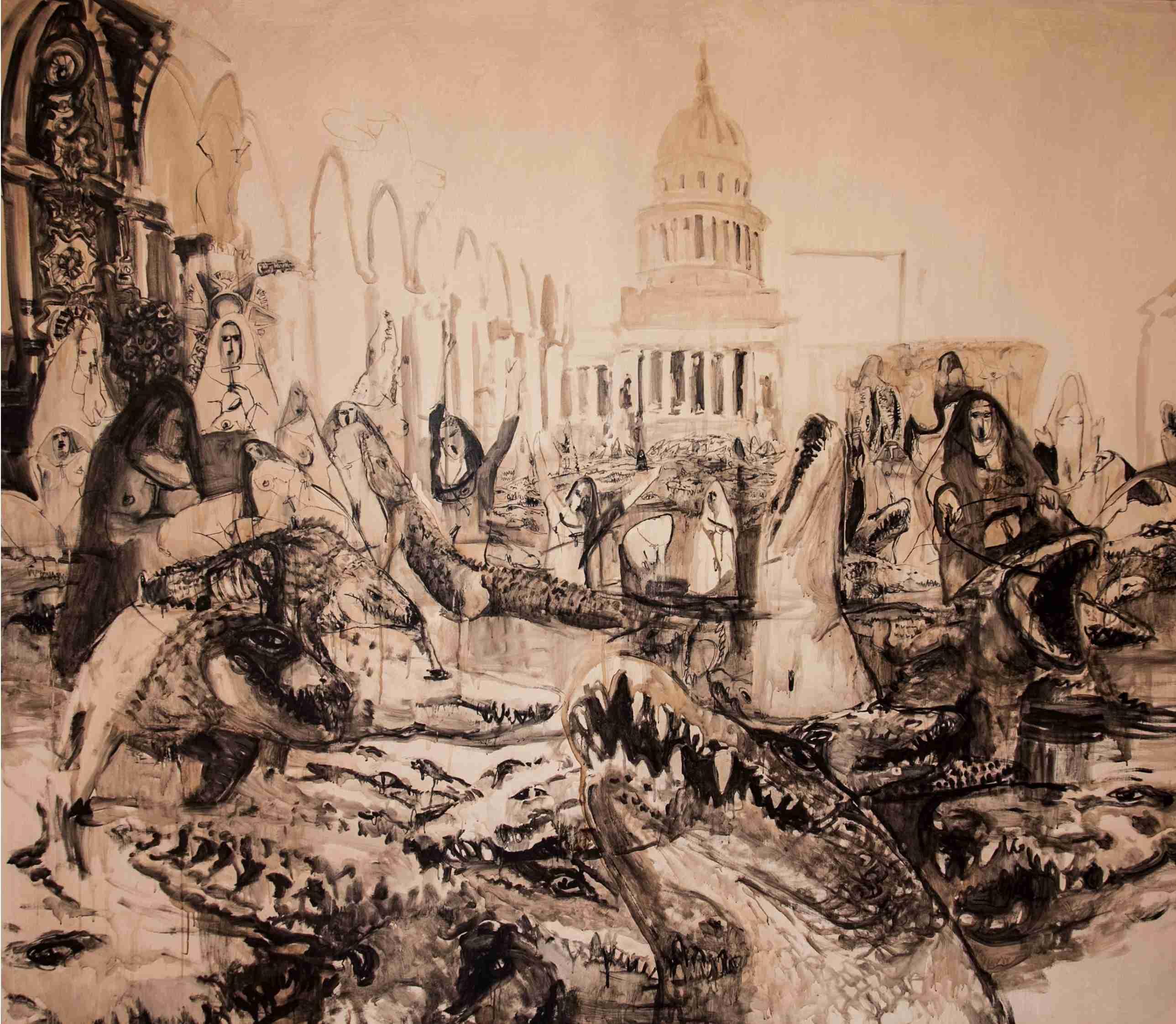 Obra: El año del cocodrilo