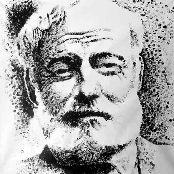 "Obra: Serie ""Gunshot"", Ernest Hemingway."