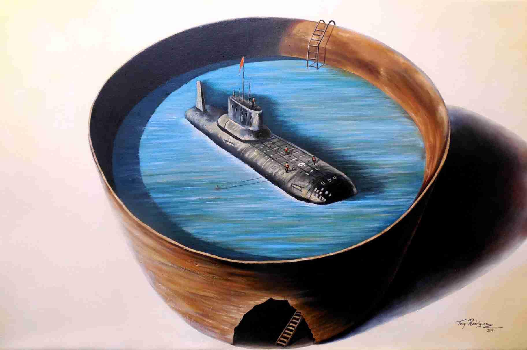 Obra: De la serie Crónicas del agua(Nautilus)