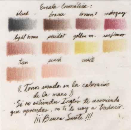 Obra: Escala cromatica
