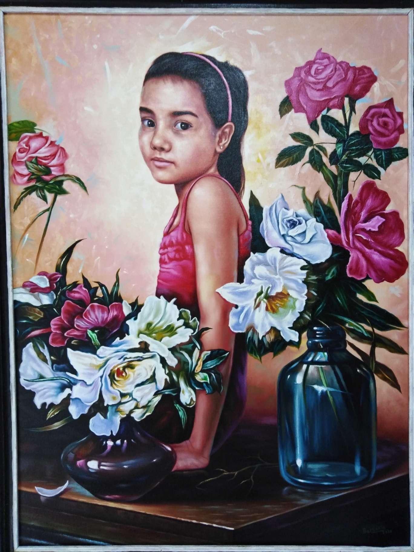 Obra: Mi pequeña flor