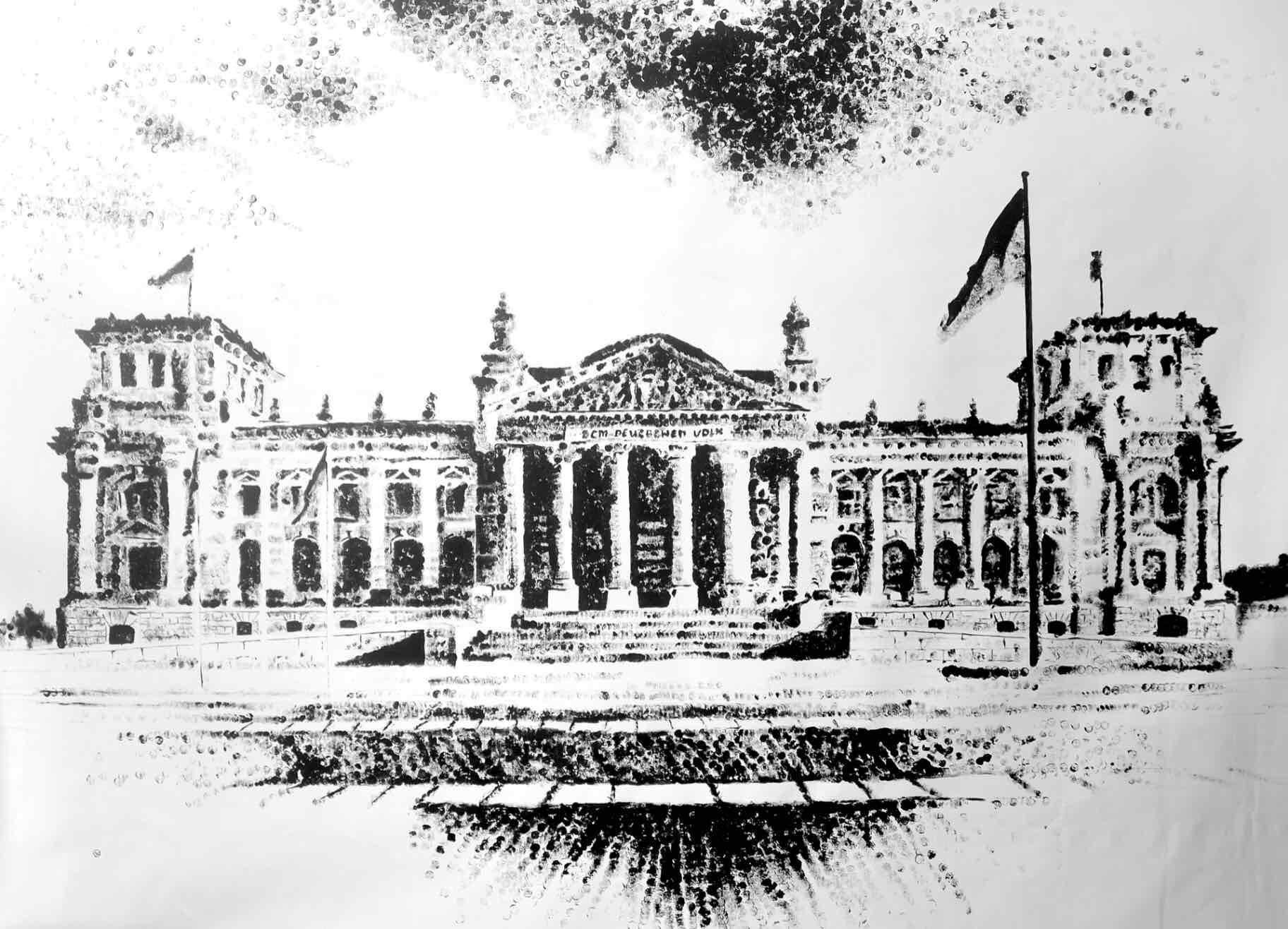 "Obra: Serie ""Foundations"", Reichstag."