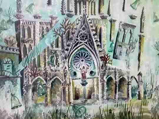 "Obra: "" Iglesia del Sagrado Corazón de Jesús Reina """