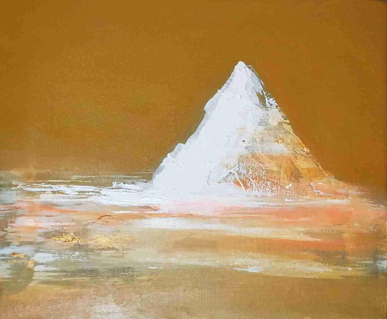 "Obra: ""Hot iceberg"""