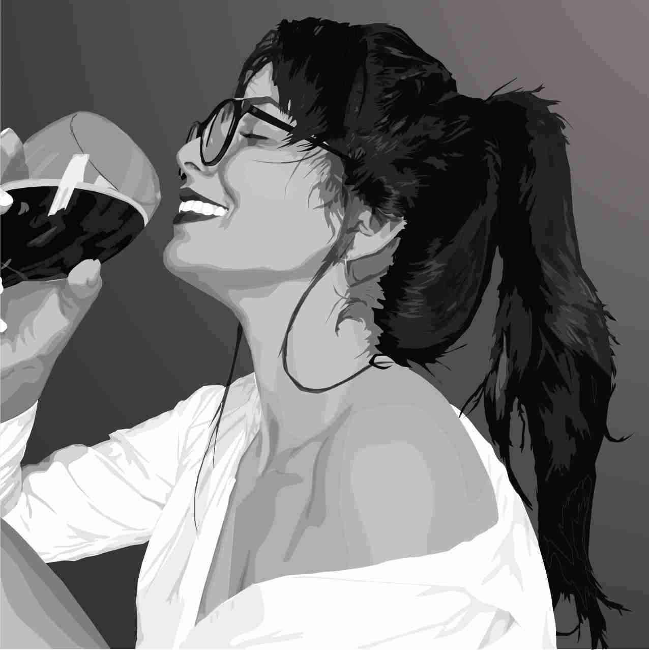 Obra: Sonrisa ilustrada