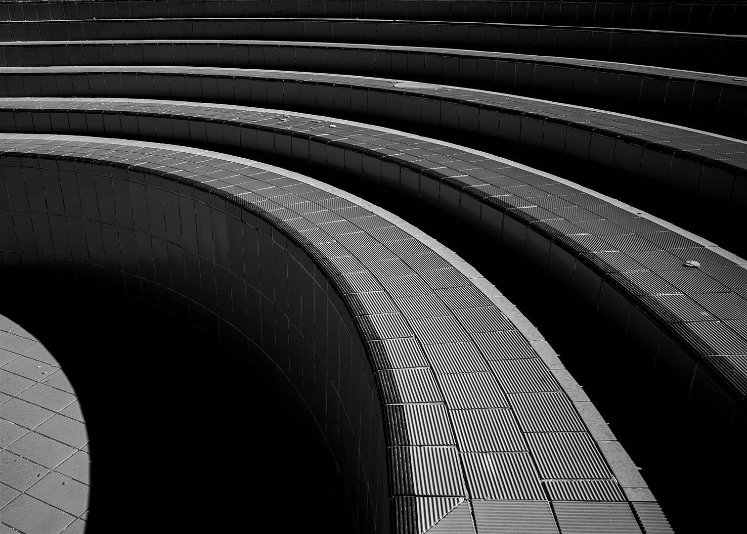 Obra: Perspectiva de una escalera 2