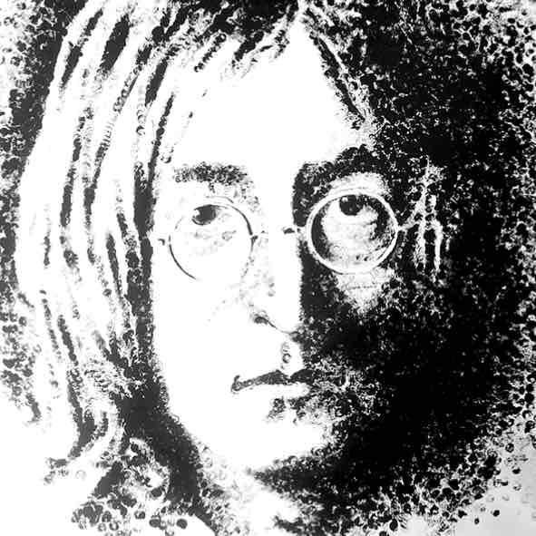 """Obra: Serie """"Gunshot"""", John Lennon."""