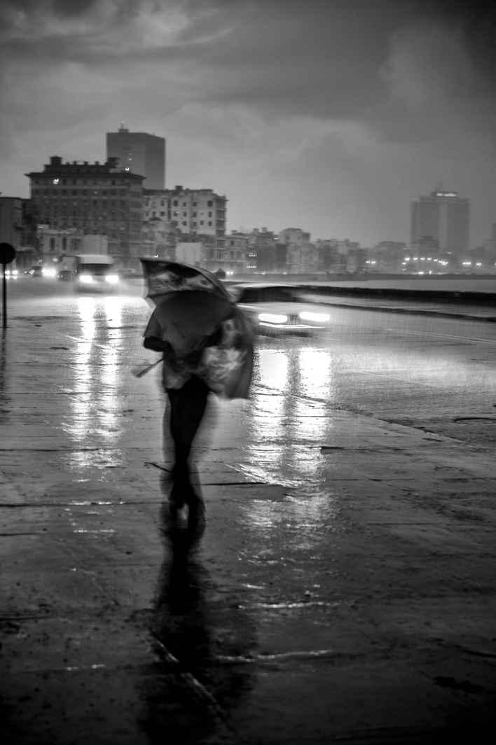 Obra: Llueve en Malecón