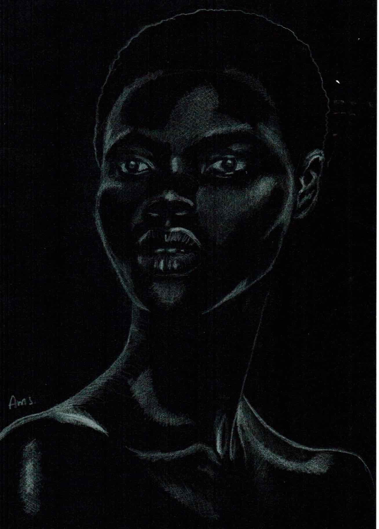 Obra: Pieza #7 de serie Black Girls Matter