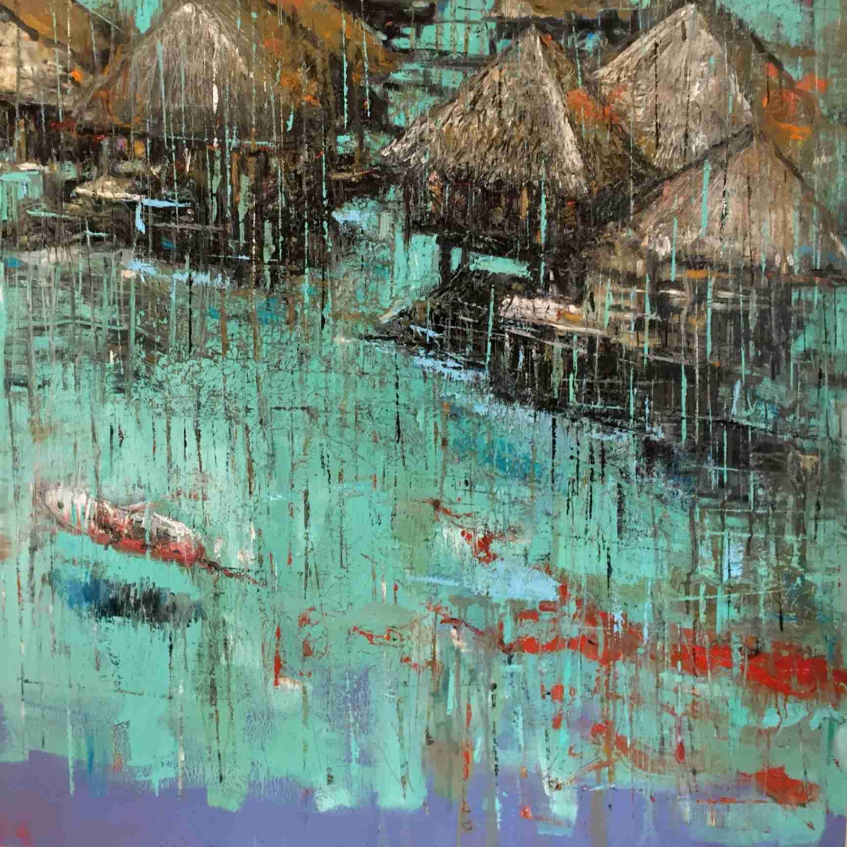 Obra: Pesadilla tropical en país frío/Comienzo de la marea roja