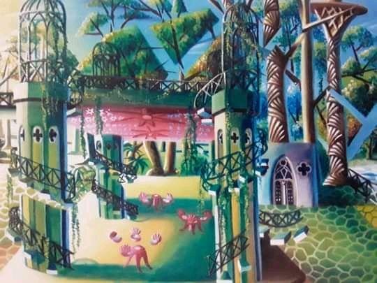 """Obra: """" Jardines de la Tropical"""""""