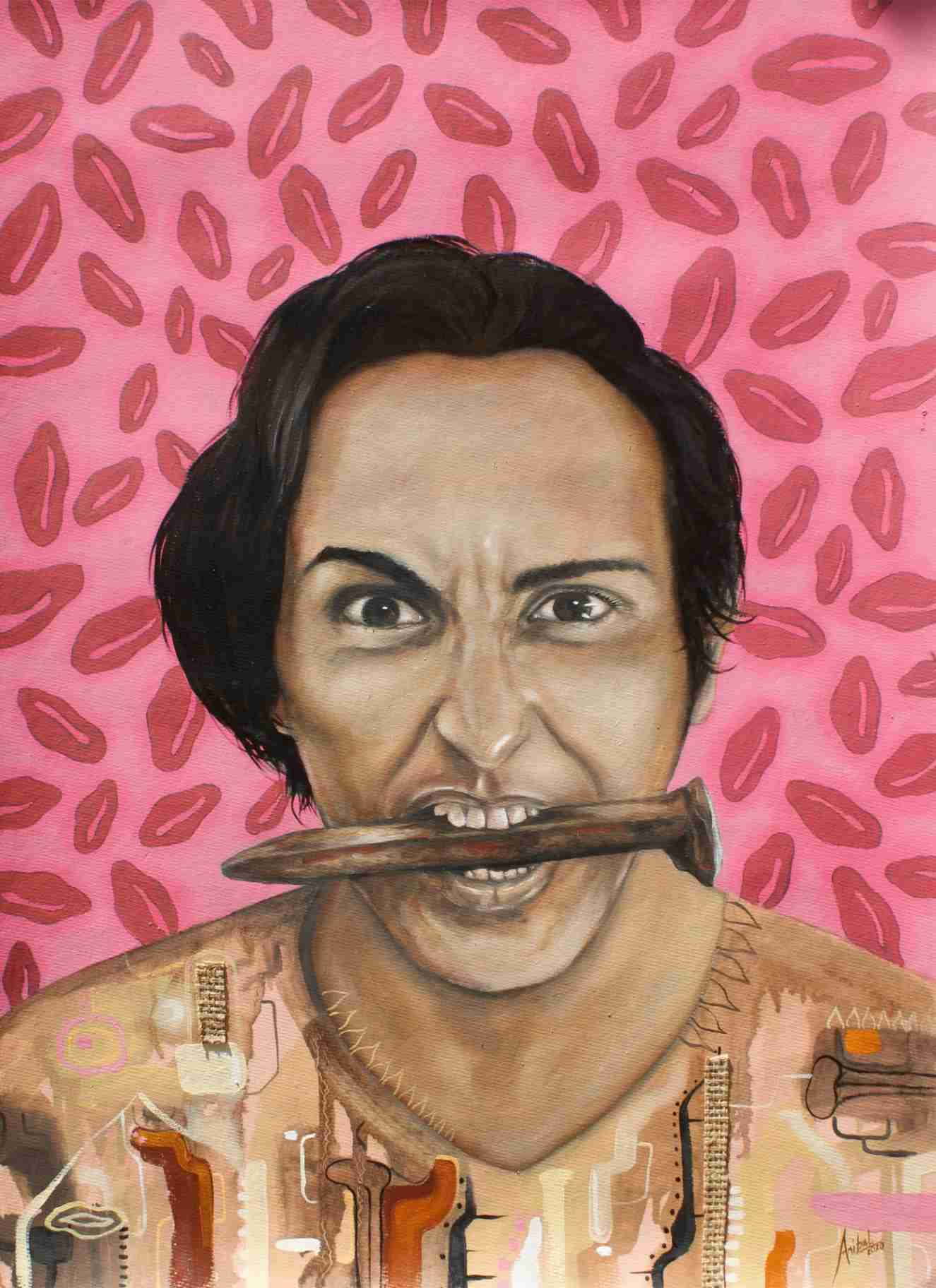 Obra: Guerrero no tan Rosa