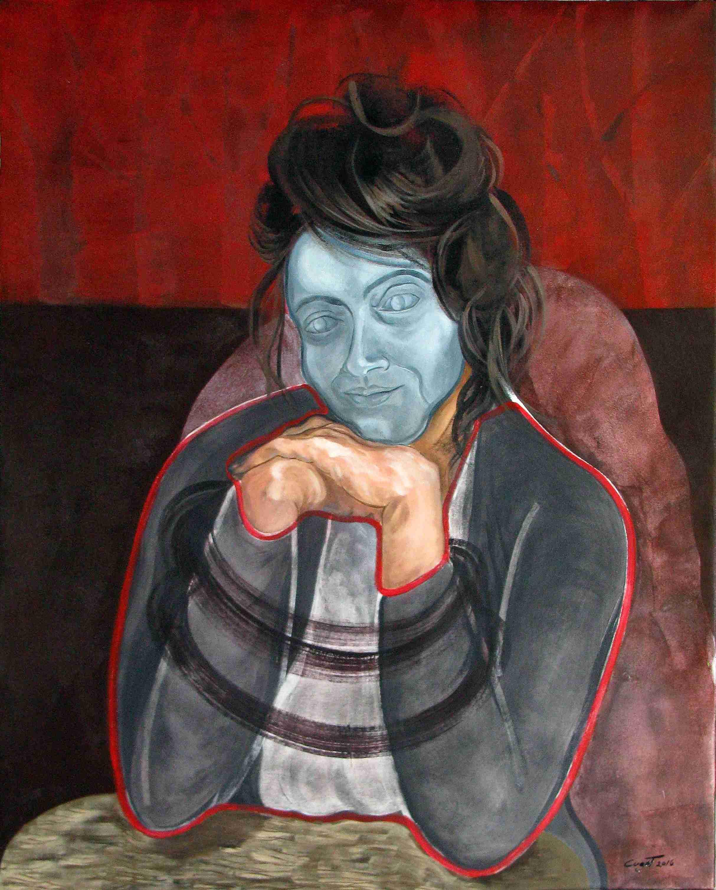 Obra: Serie Muñecas (Retrato)